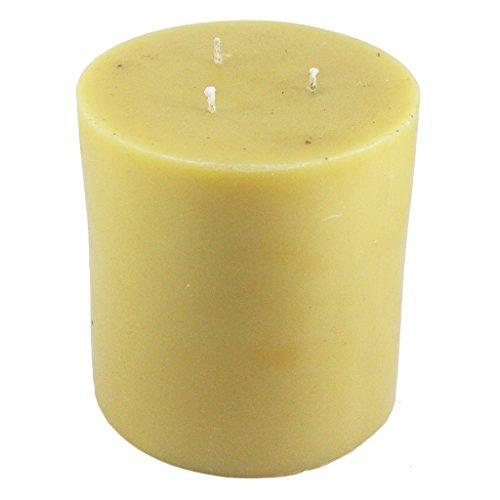 Beeswax Pillar Candle (Beeswax Pillar Candle - 3 Wick)