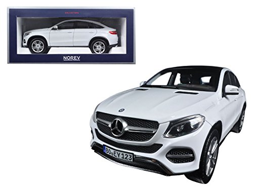 Maisto 2015 Mercedes GLE Coupe White 1/18 Model Car by - Model Gle