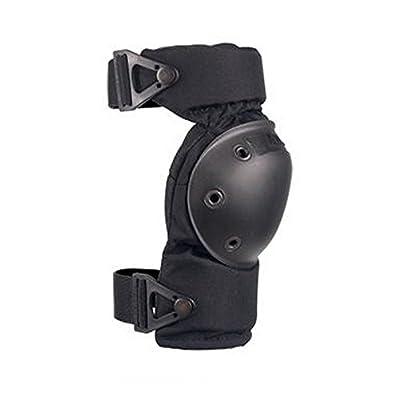 ALTA 52913.00 AltaCONTOUR Knee Protector Pad, Black Cordura Nylon Fabric, AltaLOK Fastening, Flexible Cap, Round, Black (One Pair): Industrial & Scientific