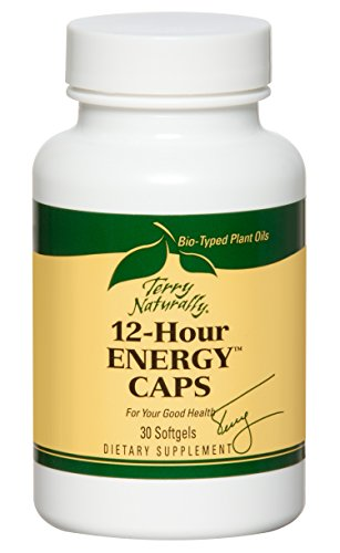 Terry Naturally 12 Hour Energy Caps - 30 Softgels