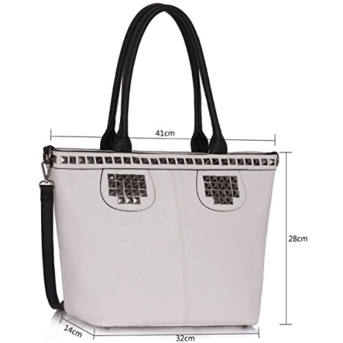 Xardi London, Borsa tote donna large White