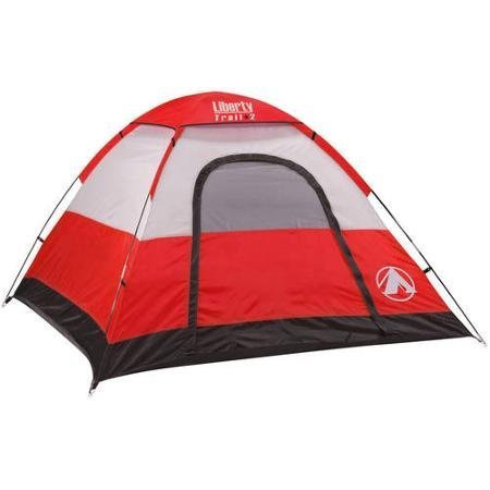 - Liberty Trail 3 Person Dome Tent (Red) by GigaTent
