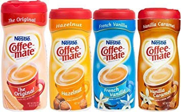 (Coffee Mate Powdered Creamer - Variety 4 Pack)