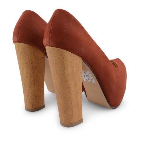 Footwear Sensation - Sandalias de vestir para mujer Beige beige Beige - Rust Red