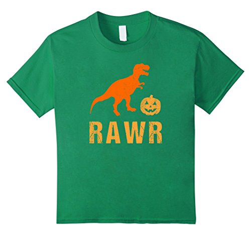 Kids T Rex Dinosaur Halloween Shirt Costume Funny Gift for Kids 4 Kelly (Unique Toddler Costume Ideas)