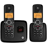 Motorola DECT 6.0 Enhanced Cordless Phone with 2 Handsets and Digital Answering System L702M