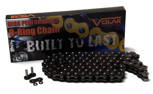 1993-2007 Honda Shadow VLX 600 VT600CD Deluxe O-Ring Chain - Black by Volar Motorsport, Inc