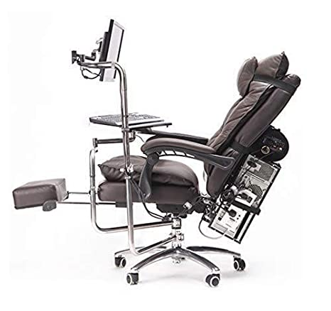 WXF Silla De Juego para Oficina, Diseño Ergonómico, Altura ...