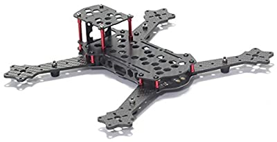 Usmile® 3K Carbon Fiber 250mm miniquad with integrated PDB Quadcopter Frame Kit Mini quad miniquad fpv quad fpv quadcopter racing drone