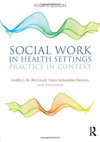 Social Work in Health Settings