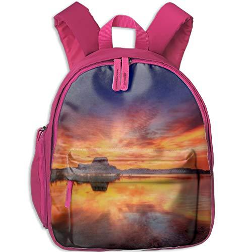 Ocean And Beach Landscape Photographs Travel School Backpack Teens Kids