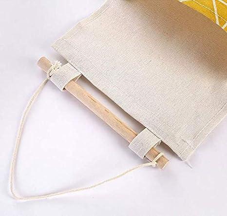 3 Ebenen Wandmontage Baumwolle Aufbewahrungstasche f/ür Kleiderschrank aus Tuch 68x20cm Design-H/ängetasche Fansi 1 St/ück Aufbewahrungstasche zum Aufh/ängen Einzeltaschen zur Aufbewahrung