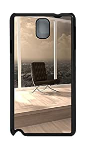 Samsung Note 3 Case Empty Chair PC Custom Samsung Note 3 Case Cover Black doudou's case