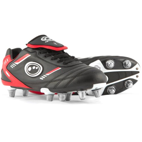 Optimum Easy Sports Size Studs 1 13 Fastening Rugby Junior Boots Tribal Senior wqr1UaqZ