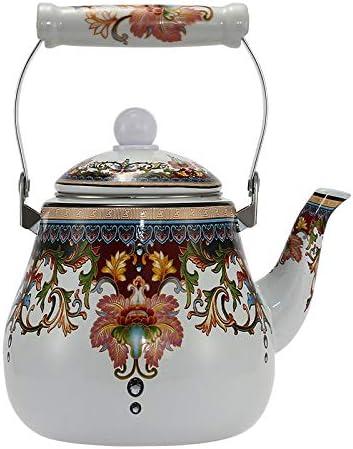 JGU Tetera de camping de café y té de gran capacidad ...