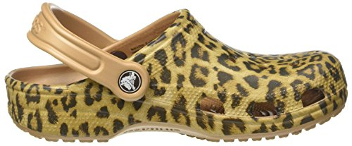 Crocs Unisex Adults' Clssclprd3clg Clogs Gold (Gold) J2NMo