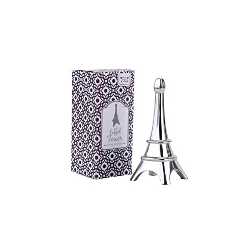 CGB Giftware Silver Eiffel Tower Ring Holder (One Size) (Silver) (Ring Tower Eiffel)