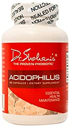 Dr. Shahani\'s Acidophilus Capsules for Digestive Health and Regularity, 90 Count