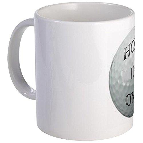 CafePress HOLE IN ONE! Golf Mug Unique Coffee Mug, Coffee Cup -