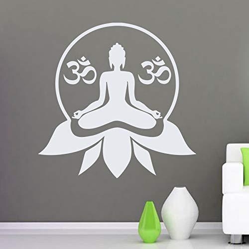 wukongsun Logo patrón Yoga Studio Vinilo Etiqueta de la Pared ...