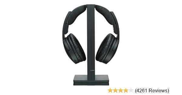 Amazoncom Sony Mdrrf985rk Wireless Rf Headphone Black Home Audio
