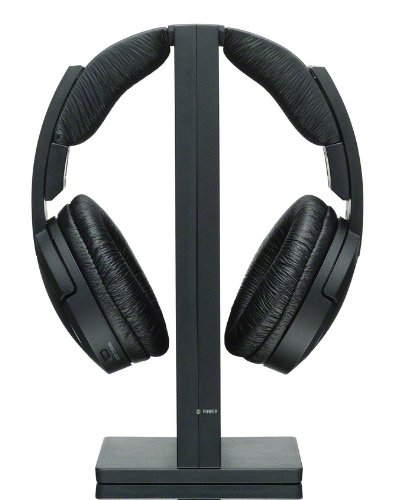 Sony MDRRF985RK Wireless Headphone Black product image