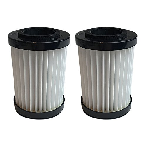 Crucial Vacuum Replacement Cartridge Filters - Compatible with Shark Vacuum Filter Parts # EP604 and EU18410, Fits M084500V, M084501V and M084505 Models - (2 Pack)
