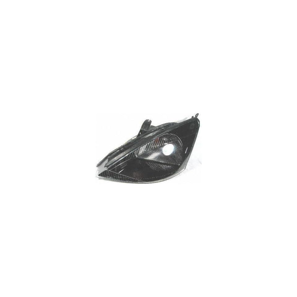 02 03 FORD FOCUS HEADLIGHT LH (DRIVER SIDE), W/O HID Lamp, W/SVT Model
