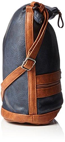 Tamaris Smirne Hobo Bag - Shoppers y bolsos de hombro Mujer Azul (Navy Comb.)