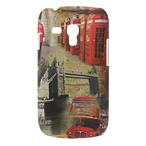 Bus Pattern Hard Case for Samsung Galaxy S3 mini I8190