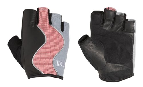 Valeo GLCF Women's Crosstrainer Plus Gloves In Small, Medium, Or Large Sizes That Are Designed Specifically For Women's Hands With Double Leather Palms And Padded Palm and Index Finger