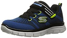 Skechers Boys\' Flex Advantage Master Mind,Navy/Blue,US 11.5 W