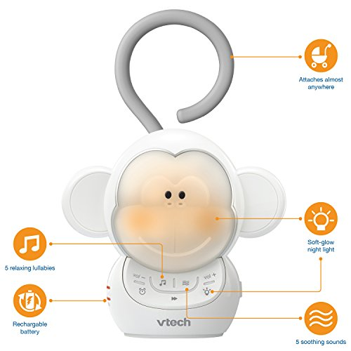 VTech Baby Soother - White - One Size, Myla The Monkey