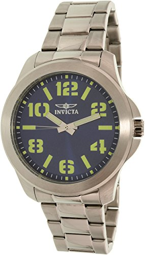 Invicta Men's Specialty 21443SYB Silver Stainless-Steel Quartz Watch