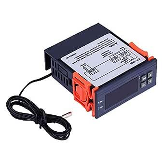 STC- SNOWINSPRING Thermostat de Contr?Leur de Temp/éRature Num/éRique 220V 1000 avec NTC
