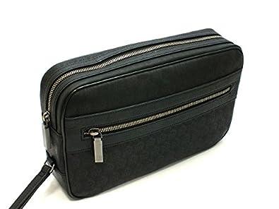 7fa31d04b13e Amazon   ダンヒル セカンドバッグ カバン ポーチ メンズ L3K791A ブラック [並行輸入品]   Dunhill(ダンヒル)    クラッチ・セカンドバッグ