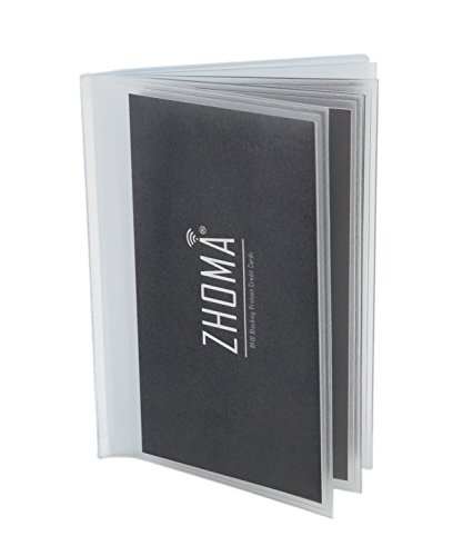 Set of 2 - 12 Pages Replacement Insert For for Bifold or Trifolds Wallet - Picture or Card