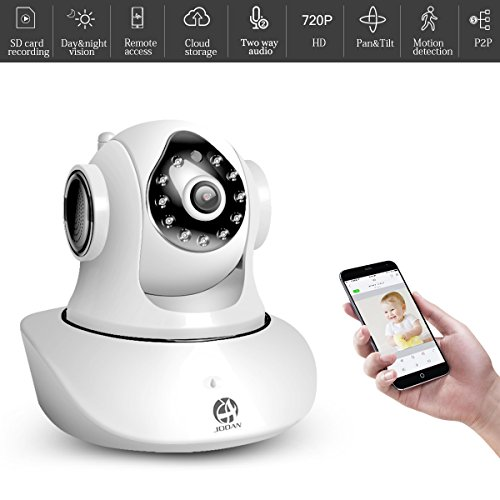 Baby Monitor, JOOAN WiFi Wireless Camera HD 720P Network Camera Home Security with Phone & PC Remote Access Two-way Audio