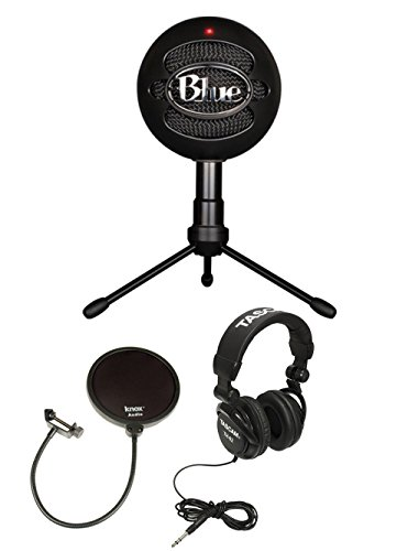 Blue Microphones Snowball Ice Condenser Microphone (Black) with