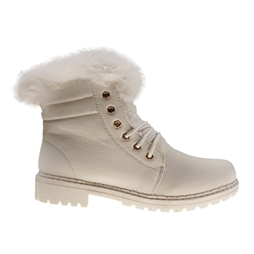Bottes Weiß Fashion4young Femme Bottes Pour Fashion4young wwv6qCS