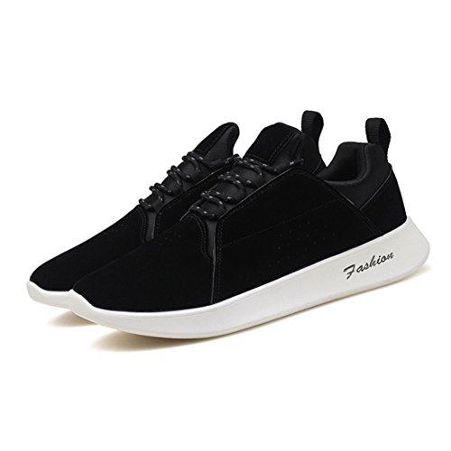 Heren Outdoor Sport Loopschoenen Lichtgewicht Casual Sneakers 7237 Zwart