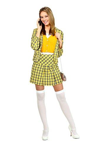 Fun C (Cher Clueless Costume Yellow)