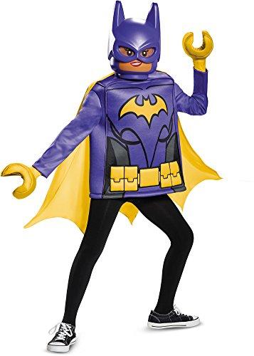 Batman Lego Costumes (Batgirl LEGO Movie Classic Costume, Black, Medium (7-8))