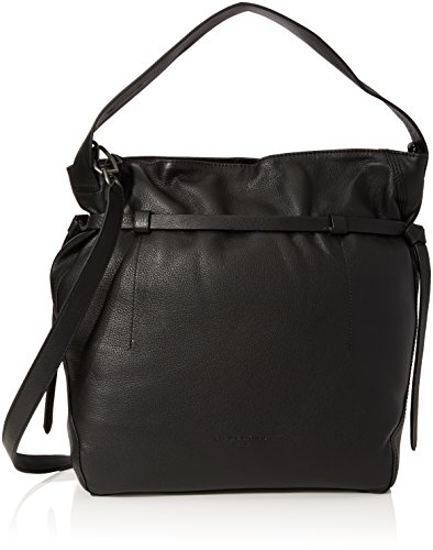 Liebeskind Berlin Women's Lincoln Vintage Leather Hobo, Oil Black by Liebeskind Berlin