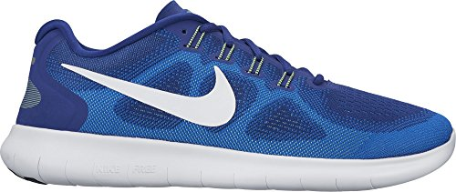 Ghost Statue (Nike Men's Free RN 2017 Running Shoe Deep Royal Blue/White/Soar/Ghost Green Size 8 M US)