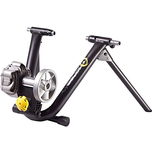 Cycleops Fluid2 Bicycle Indoor Trainer and Leveling Block Combo Set by CycleOps