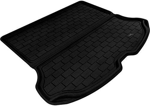 3D MAXpider Cargo Custom Fit All-Weather Floor Mat for Select Volvo XC60 Models - Kagu Rubber (Volvo Trunk Mat)