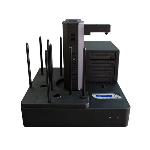 Aero 4 Target Robotic Automated CD DVD Disc Duplicator With 660 Disc Capacity & 500GB HDD