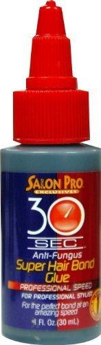 Salon Pro 30 Second Glue 1 oz. (Pack of 2)