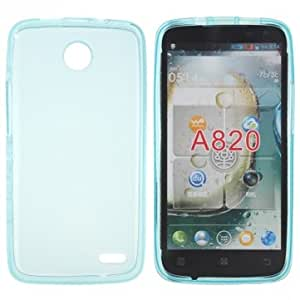 TPU Gel Silicone Soft Case For For Lenovo S820 Smartphone & Color = Gray